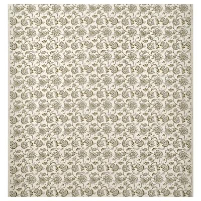 JUNIMAGNOLIA قماش, طبيعي/أخضر, 150 سم