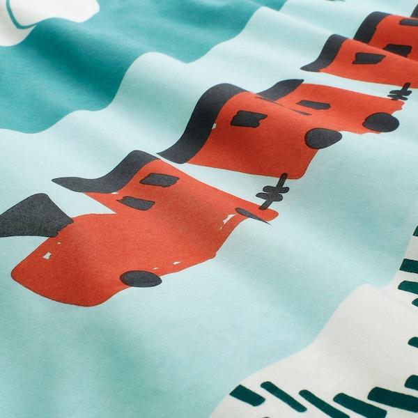 KÄPPHÄST غطاء لحاف و غطاء مخدة, الترقيع/دمى, 150x200/50x80 سم
