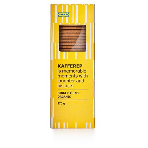 KAFFEREP ginger thins organic 170 g