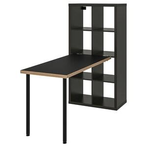 Colour: Black-brown/plywood.