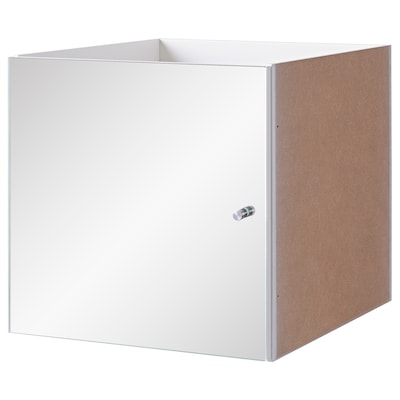 KALLAX Insert with mirror door, 33x33 cm