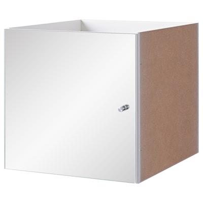 KALLAX ملحق داخلي بباب مرآة, 33x33 سم