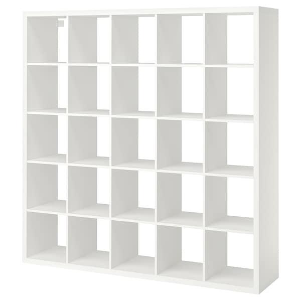 KALLAX وحدة أرفف, أبيض, 182x182 سم
