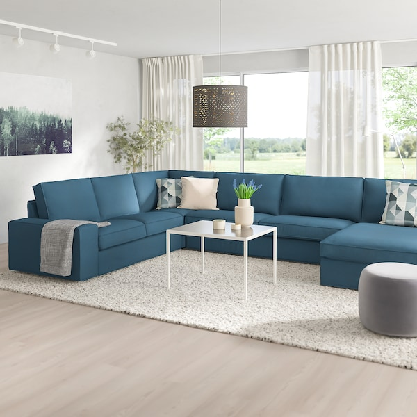 Kivik Corner Sofa 6 Seat With Chaise Longue Hillared