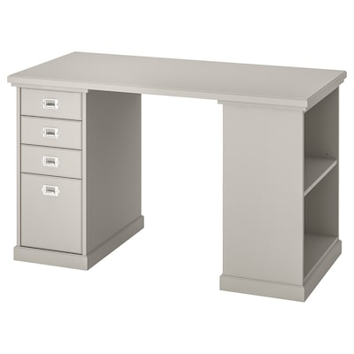 KLIMPEN Table, light grey, 120x60 cm