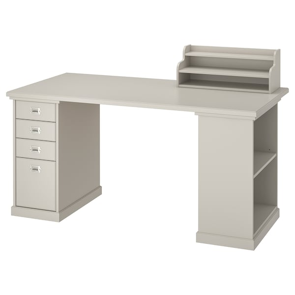 KLIMPEN table light grey 150 cm 75 cm 73 cm 50 kg