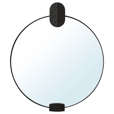 KLINGATORP مرآة, لون برونزي, 30 سم