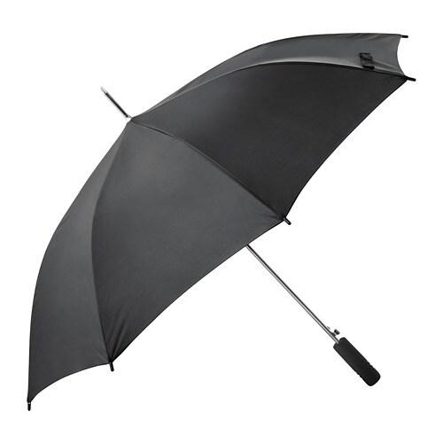 Knalla Umbrella Black Ikea