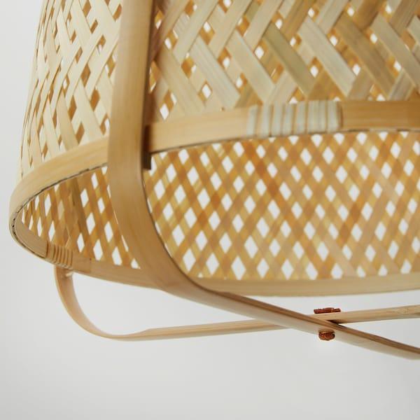 KNIXHULT pendant lamp bamboo 13 W 53 cm 40 cm 1.6 m