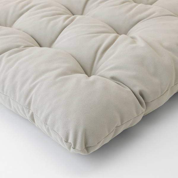 KUDDARNA chair cushion, outdoor grey 50 cm 50 cm 7 cm