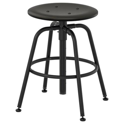 KULLABERG stool black 110 kg 34 cm 36 cm 36 cm 47 cm 69 cm