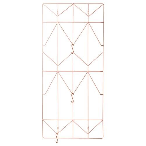 KVICKSUND memo board light pink 39 cm 86 cm 4.3 cm