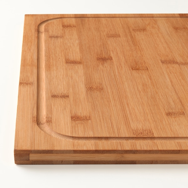 LÄMPLIG chopping board bamboo 46 cm 53 cm 18 mm
