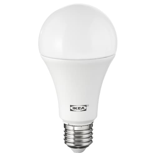 LEDARE LED bulb E27 1600 lumen warm dimming/globe opal white 2700 K 1600 lm 13 cm 68 mm 16.0 W