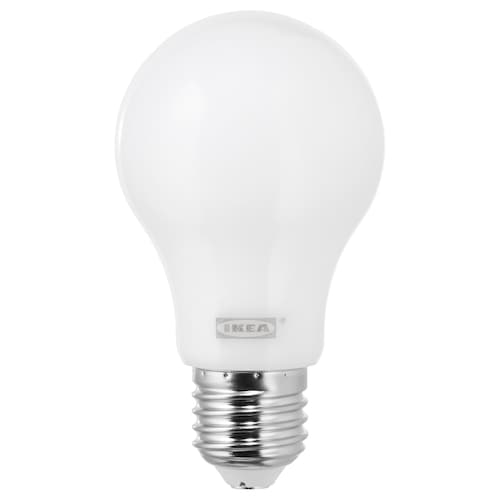 LEDARE LED bulb E27 600 lumen warm dimming/globe opal white 600 lm