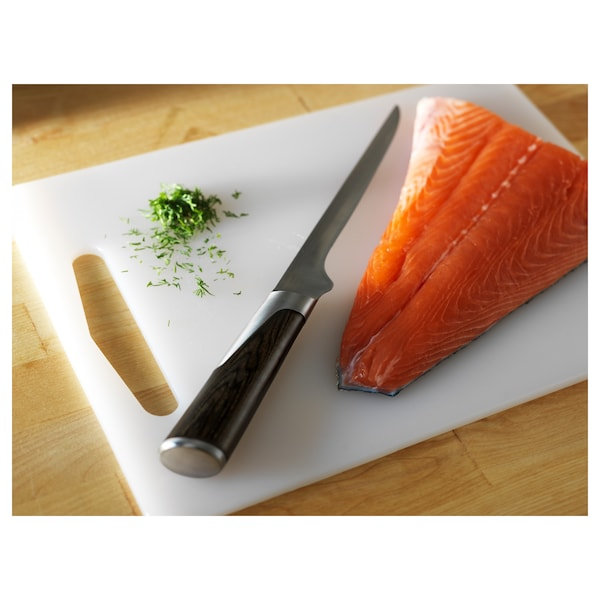 LEGITIM chopping board white 34 cm 24 cm 8 mm