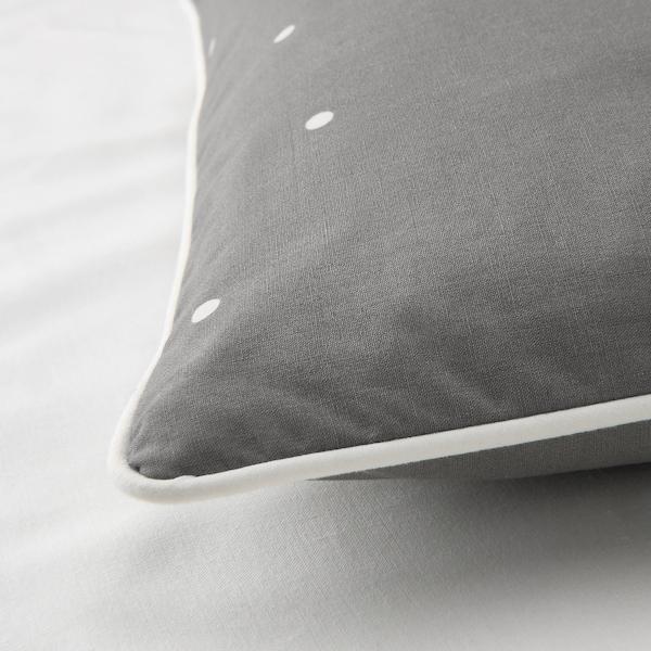 LENAST غطاء لحاف وغطاء مخدة واحد للأطفال, نقش دائرة, 110x125/35x55 سم