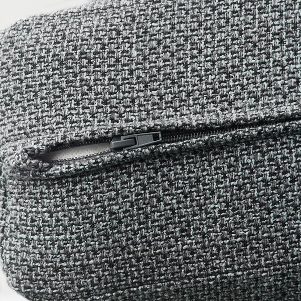 LIDHULT cover for 1-seat section Lejde grey/black