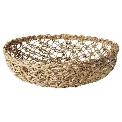 LOKALT Basket, banana fibre/handmade, 32 cm