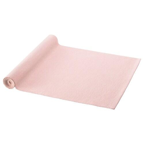 MÄRIT table-runner pink 130 cm 35 cm