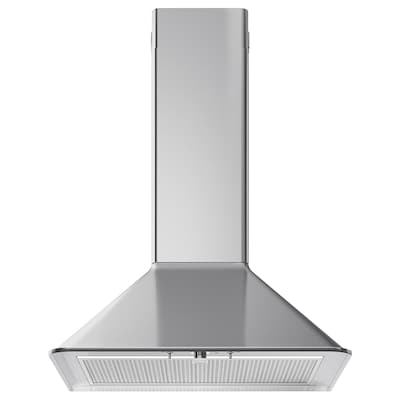 MATTRADITION Wall mounted extractor hood, stainless steel, 60 cm