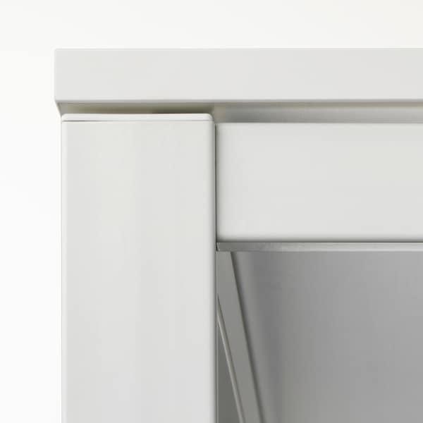 MELLTORP Underframe, white, 125x75 cm