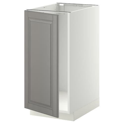 METOD base cab f sink/waste sorting white/Bodbyn grey 40.0 cm 61.9 cm 88.0 cm 60.0 cm 80.0 cm