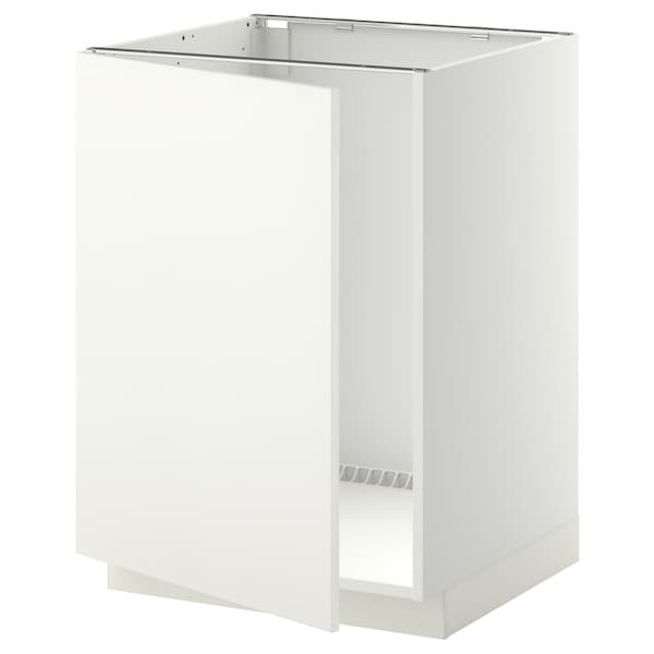 METOD base cabinet for sink white/Häggeby white 60.0 cm 61.6 cm 88.0 cm 60.0 cm 80.0 cm