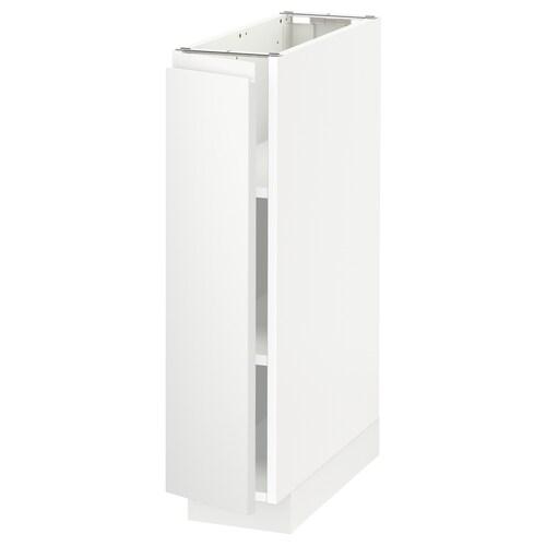 METOD base cabinet with shelves white/Voxtorp matt white 20.0 cm 62.1 cm 88.0 cm 60.0 cm 80.0 cm