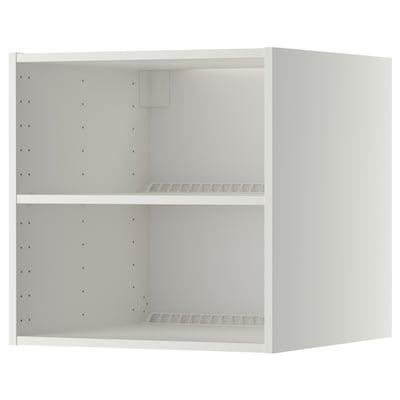 METOD Fridge/freezer top cabinet frame, white, 60x60x60 cm