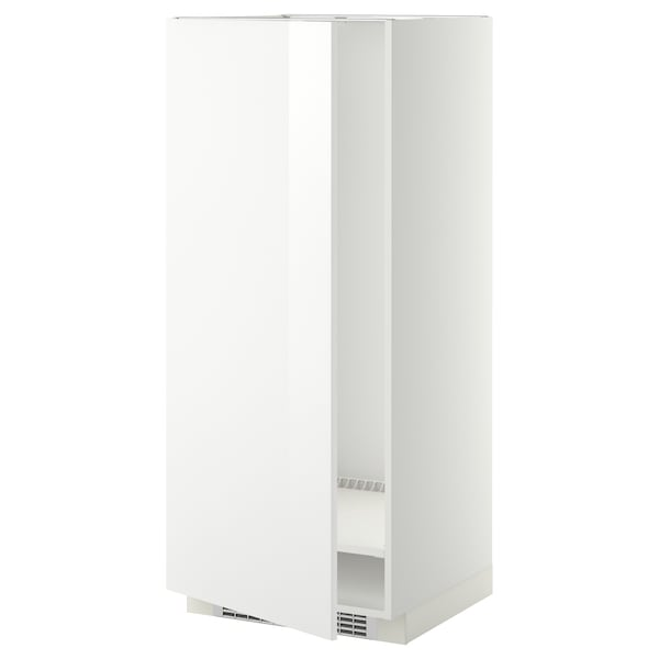 METOD High cabinet for fridge/freezer, white/Ringhult white, 60x60x140 cm