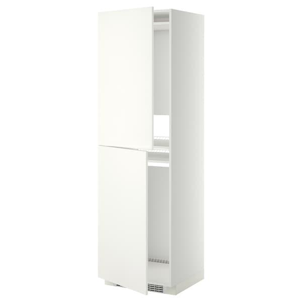 METOD high cabinet for fridge/freezer white/Häggeby white 60.0 cm 61.6 cm 208.0 cm 60.0 cm 200.0 cm