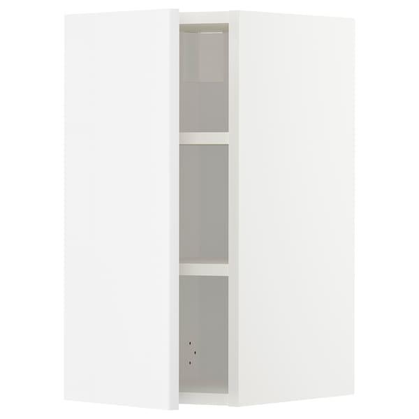 METOD خزانة حائط مع أرفف, أبيض/Ringhult أبيض, 30x60 سم