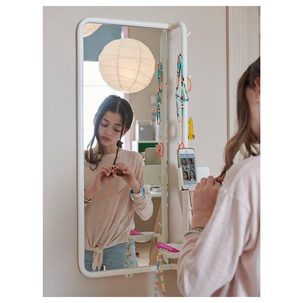MÖJLIGHET mirror white 34 cm 81 cm