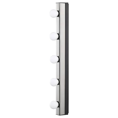 MUSIK wall lamp, wired-in installation chrome-plated 15 W 60.0 cm 37 mm 77 mm