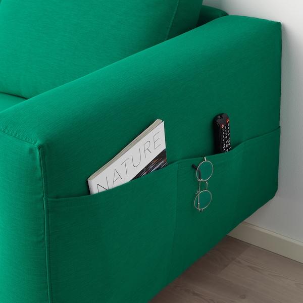 NORSBORG chaise longue Edum bright green/birch 110 cm 157 cm 85 cm 129 cm 43 cm