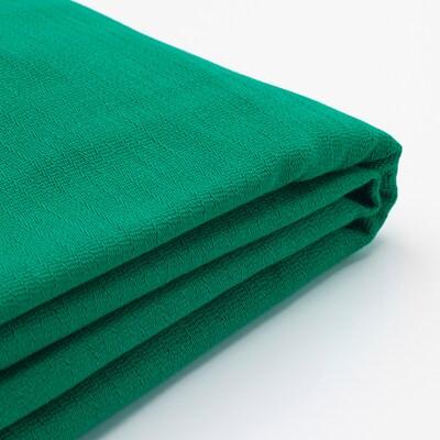NORSBORG غطاء كنبة 4 مقاعد, مع أريكة طويلة/Edum أخضر ساطع