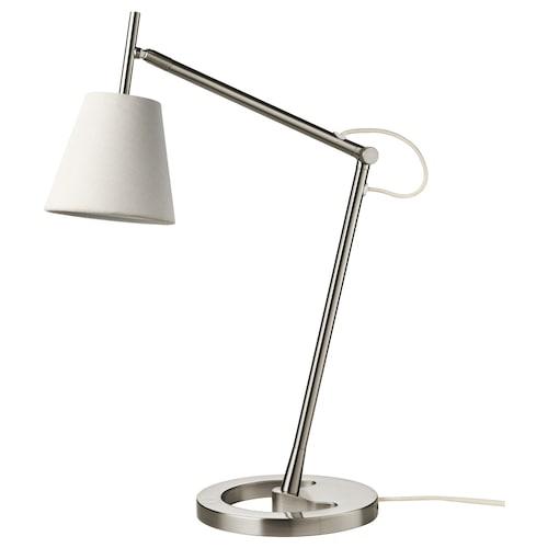 NYFORS work lamp nickel-plated white 5.7 W 400 lm 88 cm 21 cm 14 cm 1.8 m 5.7 W