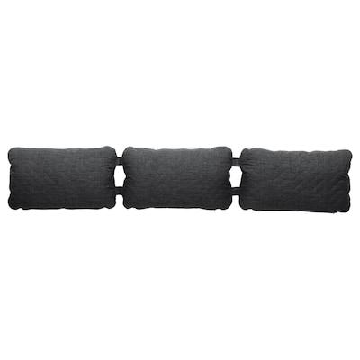 NYHAMN Triple cushion, Skiftebo anthracite