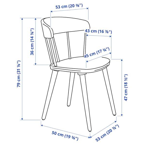 OMTÄNKSAM Chair, light grey