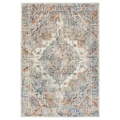 ONSEVIG Rug, low pile, multicolour, 133x195 cm