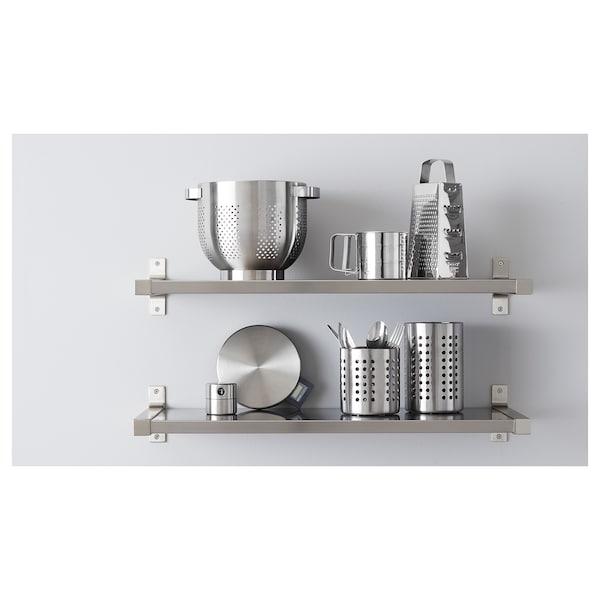 ORDNING Kitchen utensil rack, stainless steel, 18 cm