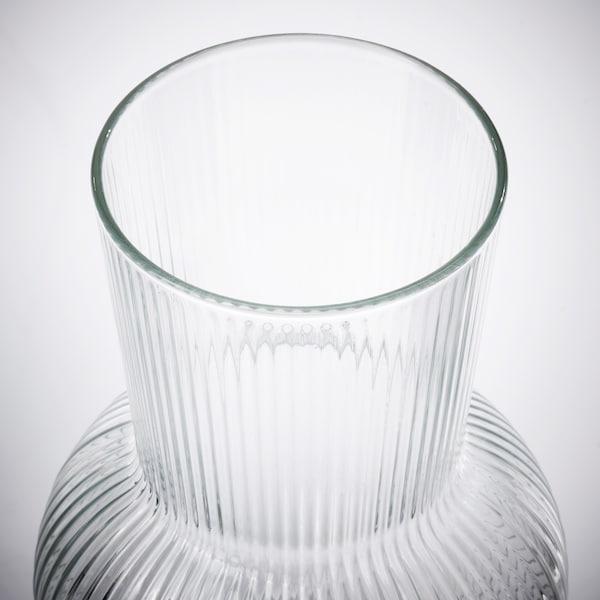 PÅDRAG Vase, clear glass, 17 cm