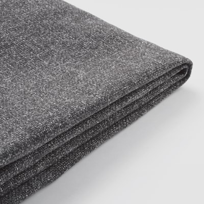 PÄRUP Cover for 3-seat sofa, with chaise longue/Gunnared dark grey
