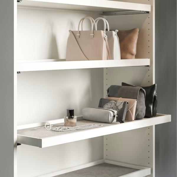 PAX Wardrobe, white, 100x35x236 cm