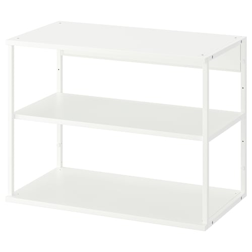 PLATSA open shelving unit white 40 cm 80 cm 60 cm