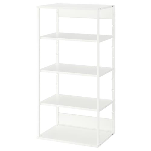 PLATSA open shelving unit white 40 cm 60 cm 120 cm