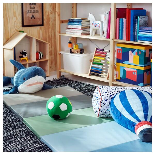 PLUFSIG مفرش أطفال يطوى, أزرق, 78x185 سم