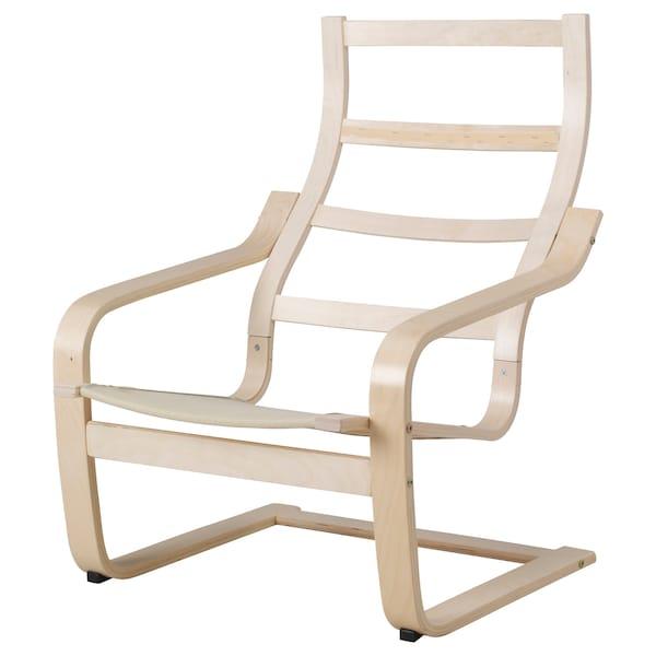 POÄNG Armchair frame, birch veneer