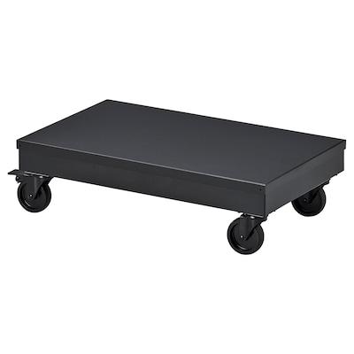 RÅVAROR عربة, أسود, 57x34 سم
